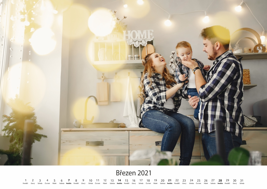 kalendář 2020 šablona 06 vnitřní stránka