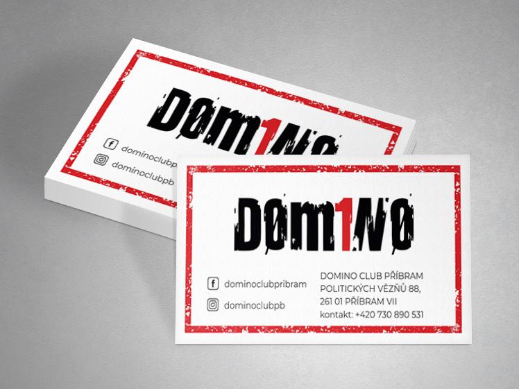 vizitky domino